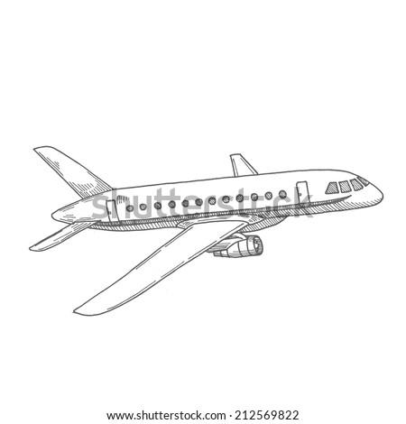 plane drawn