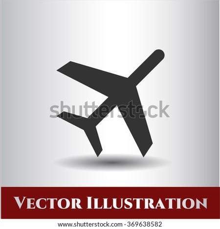 Plane high quality icon