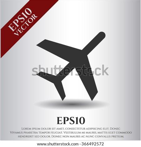 Plane icon or symbol