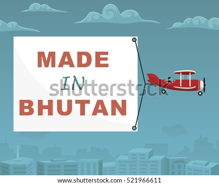 plane with banner