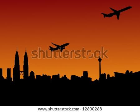 planes departing kuala lumpur