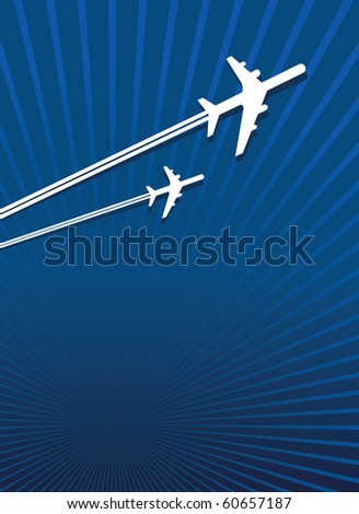 planes flying