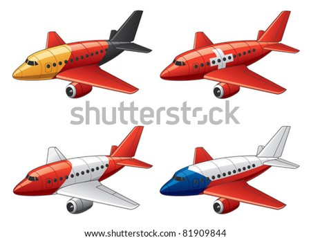 Planes in Germany, Switzerland, Austria and Czech Republic flag colors