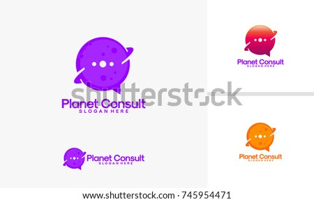 planet logo template download free vector art stock graphics images