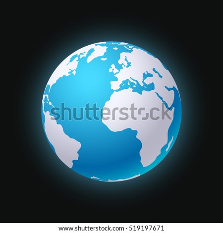planet earth sillhouette 01