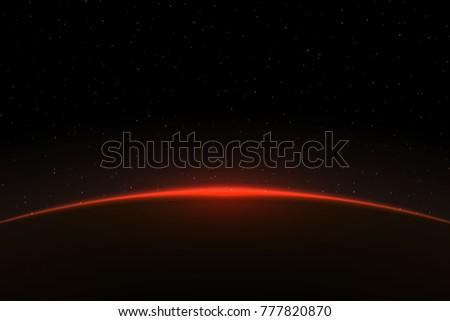 planet earth sunrise globe