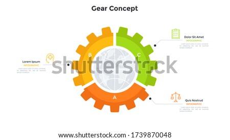planet inside gear wheel