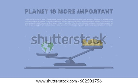 planet is more important