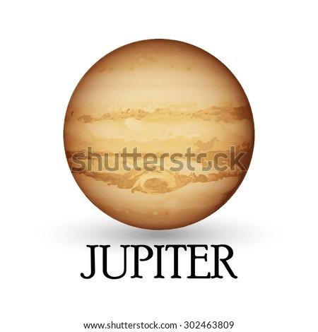 planet jupiter illustration