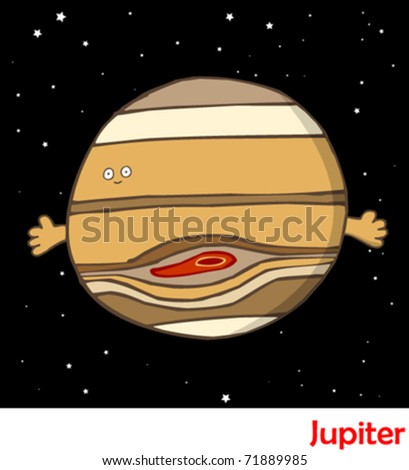 Planets in the Solar System Jupiter