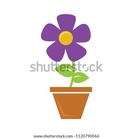 plant pot icon  vector flower...