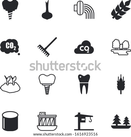 plant vector icon set such as: repair, station, colorful, ground, pepper, valve, botany, resources, sprinkler, lifting, nutrition, barley, system, science, hydroelectric, art, radish, yellow, royal
