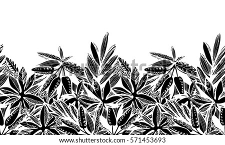 stock-vector-plants-black-and-white-illustration-seamless-vector-horizontal