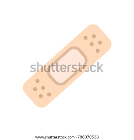 plaster icon - vector bandage