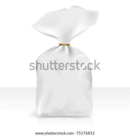 Plastic bag, vector for new design - stock vector