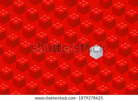 plastic bricks the children's
