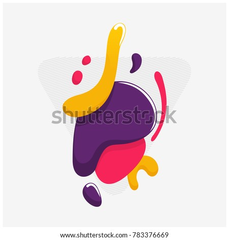 Plastic Color shapes with Glossy Theme