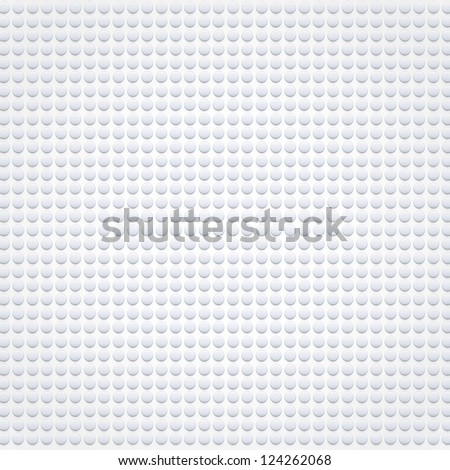 Plastic dots. Vector illustration