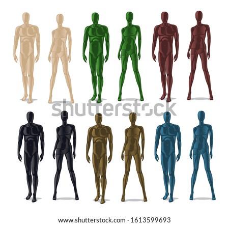 plastic mannequins men and
