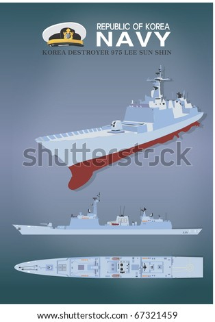 Plastic Model of the Warship