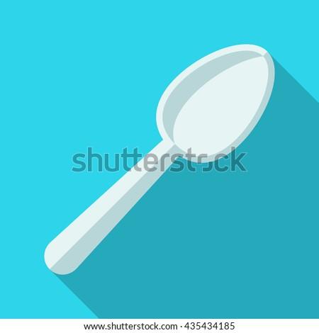 Plastic spoon Icon