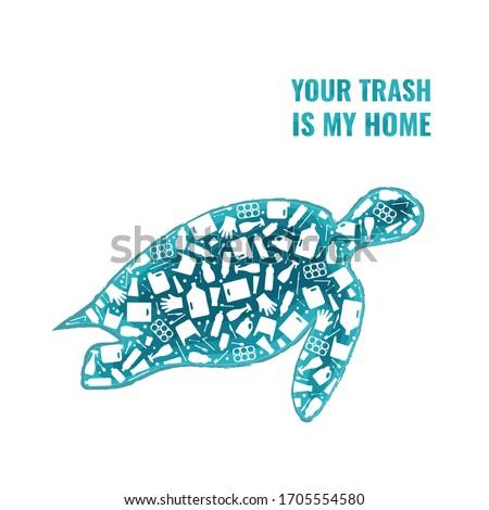plastic trash planet pollution