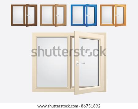 plastics glasses color windows