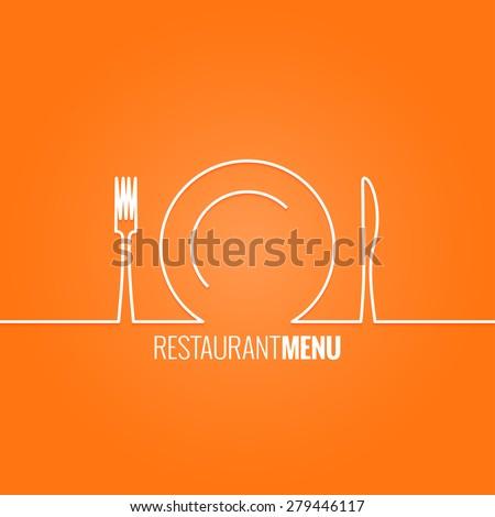 plate fork knife design