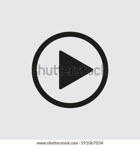 Play button #591067034