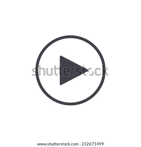 Shutterstock play button icon