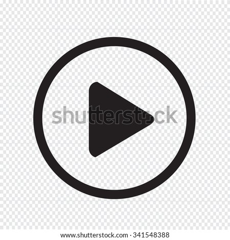 play button icon design Illustration #341548388