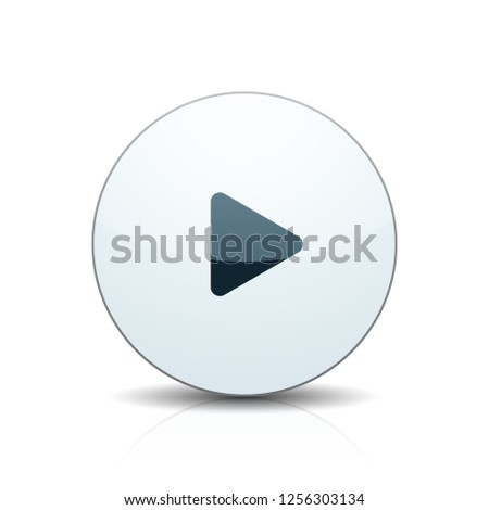 Play Button illustration #1256303134