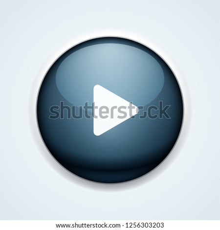 Play Button illustration #1256303203