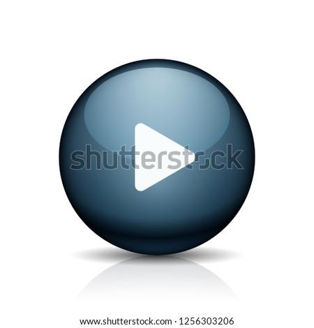 Play Button illustration #1256303206