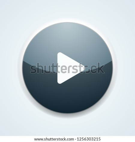 Play Button illustration #1256303215