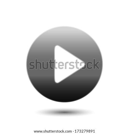 Play button web icon #173279891