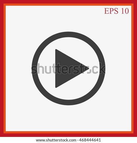 Play button web icon #468444641