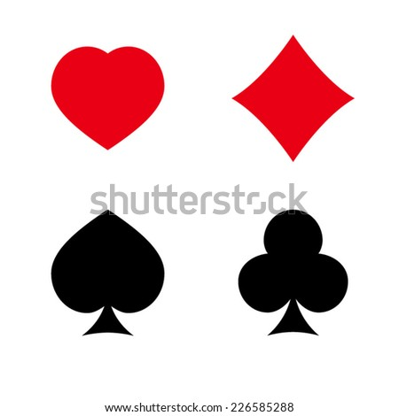 Play Card's Signs Vector Icon