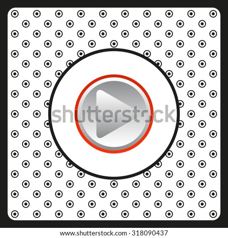 play. icon. vector design #318090437
