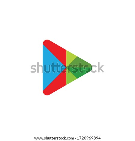play logo vector template design