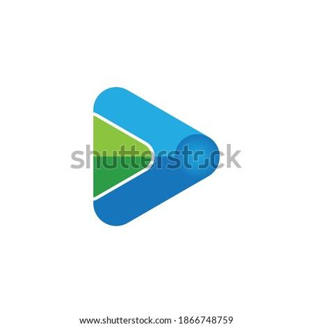 play logo vector template design