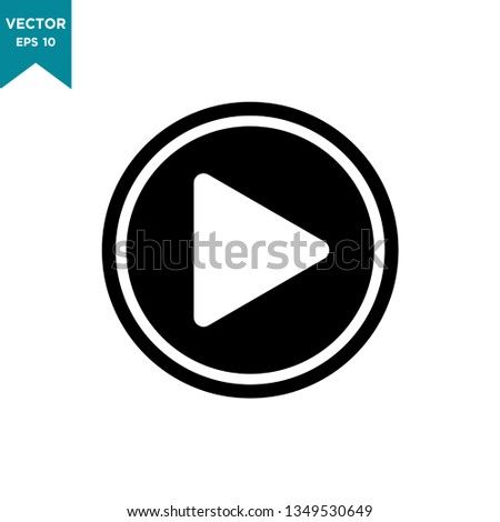play vector icon