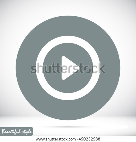play vector icon #450232588