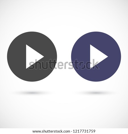 play vector icon 10 eps