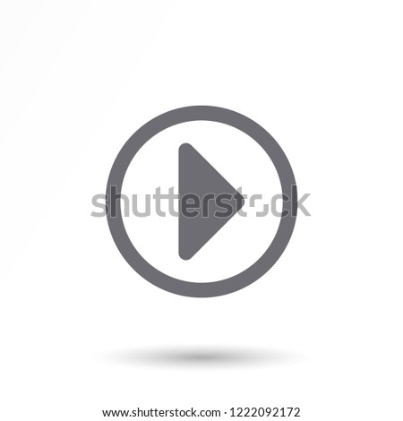 Play Video vector icon #1222092172