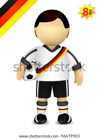 Player of German national soccer team