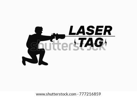 player  soldier  laser tag game