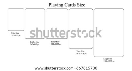 playing card size model  mini