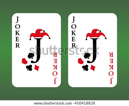 playing cards joker