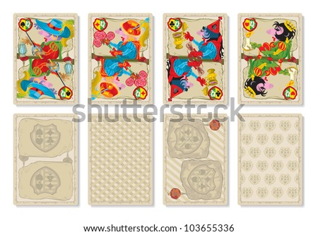 playing cards medieval europe